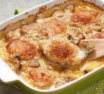 Rewelacyjne udka kurczaka zapiekane w sosie śmietanowym