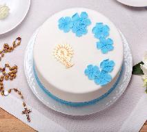 Domowe ciasta komunijne [20 przepisów] Goście będą zachwyceni