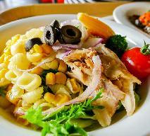 Sałatka makaronowa z kurczakiem i ananasem według Ewy Wachowicz
