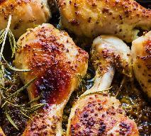 Rewelacyjne pałki kurczaka pieczone w sosie miodowo-musztardowym