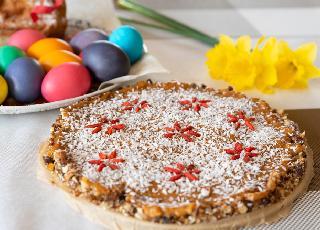 Mazurek kajmakowy z bakaliami - przepis babci Krysi [tradycyjny] + GALERIA ZDJĘĆ