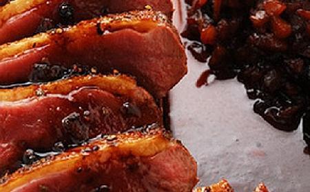 Kaczka w czerwonej cebulce - smakowity przepis