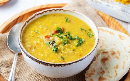 Sycąca zupa gyros: domowa zupa a la kebab