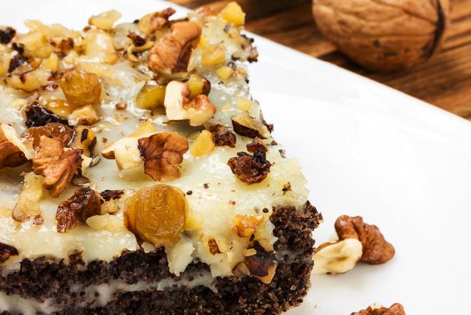 Keks makowy - przepis na pyszne ciasto na Wigilię [WIDEO]
